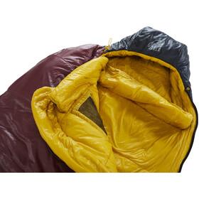 Nordisk Oscar -2° Curve Slaapzak XL, rio red/mustard yellow/black